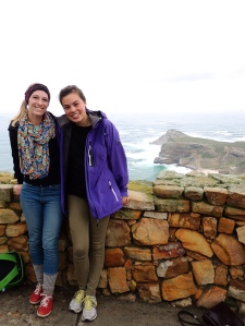 Myself and Thea at Cape Point