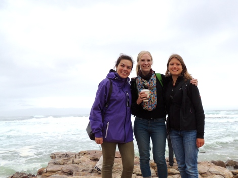 Thea, myself, and Julia at the Cape of Good Hope