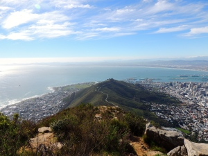On top of Lion's Head