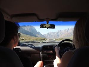 Cruising through the Swartberg Range