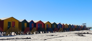 Changing rooms at Muizenberg