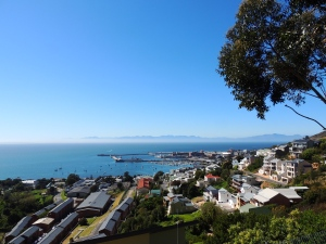 Simon's Town - we kayaked around the walls in the ocean to the far side