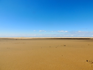 Sand for miles
