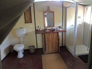 Did I mention they had a bathroom three times the size of the one I have in Cape Town?