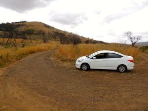 The Bushbaby - our safari car