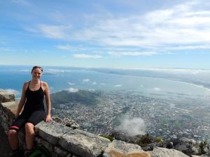 Spot the Cape Town landmarks! Robben Island, World Cup Stadium, Signal Hill...