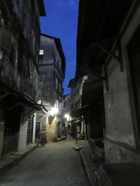 Alleys by night