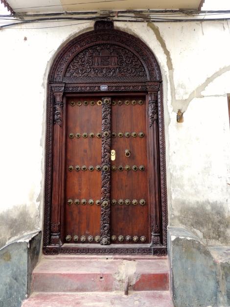 Stone Town door - handcrafted