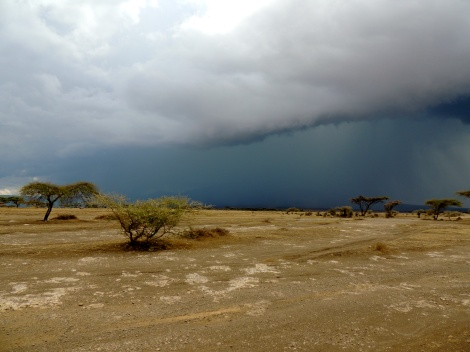 The rains in Africa