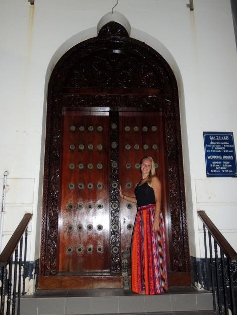 One last shot with a Zanzibar door!