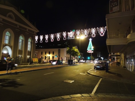 Cape Town Christmas lights