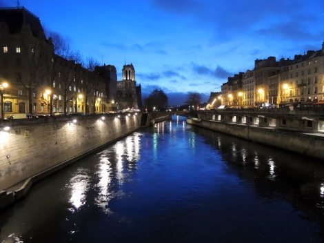 The Seine, with Notre Dame to the left