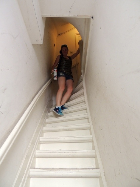 Madi's experiences in Dutch staircases