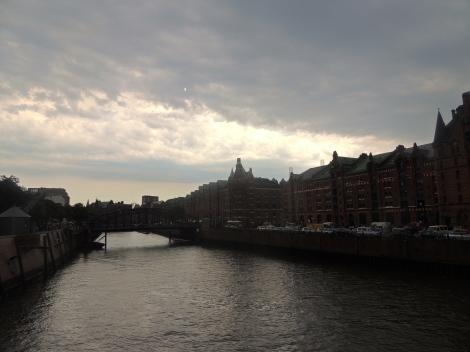 Storm rolling into Hamburg