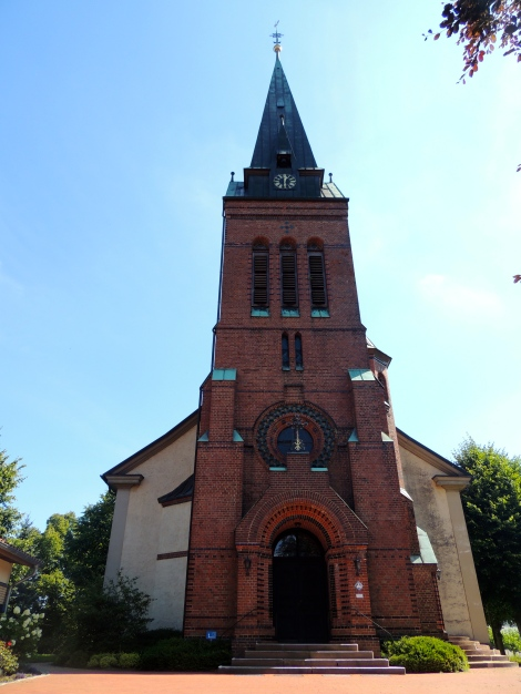 The church in Fallingbostel