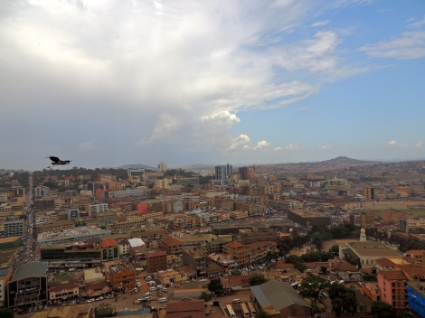 The mosque is built on Kampala Hill, in Old Kampala. Two of the other hills host a Catholic and an Anglican cathedral.