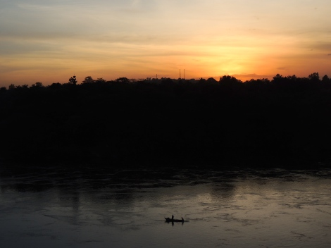 The local name for the Nile? Omugga Kiyira.
